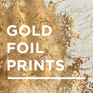 Gold Foil Posters