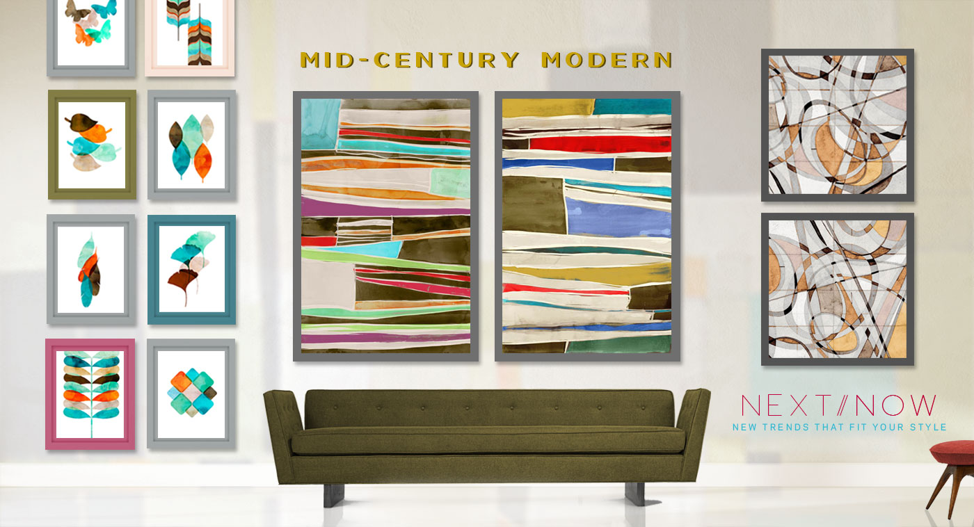 Mid century modern product categories pi creative art for Mid century online