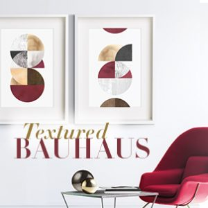 Textured Bauhaus