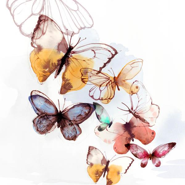 dec510e81 Butterfly Fly Away I | PI Creative Art, online art, art online, art ...