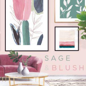 Sage & Blush