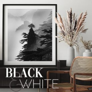April 2021 - Black & White