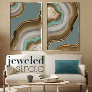 May 2021 - Jeweled Strata